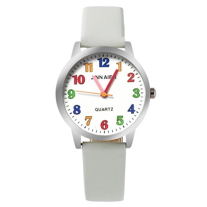 Children Watch Fashion  Brand Watches Quartz Wristwatches  Kids Clock Boys Girls Students Wristwatch Multicolor Watch Plate