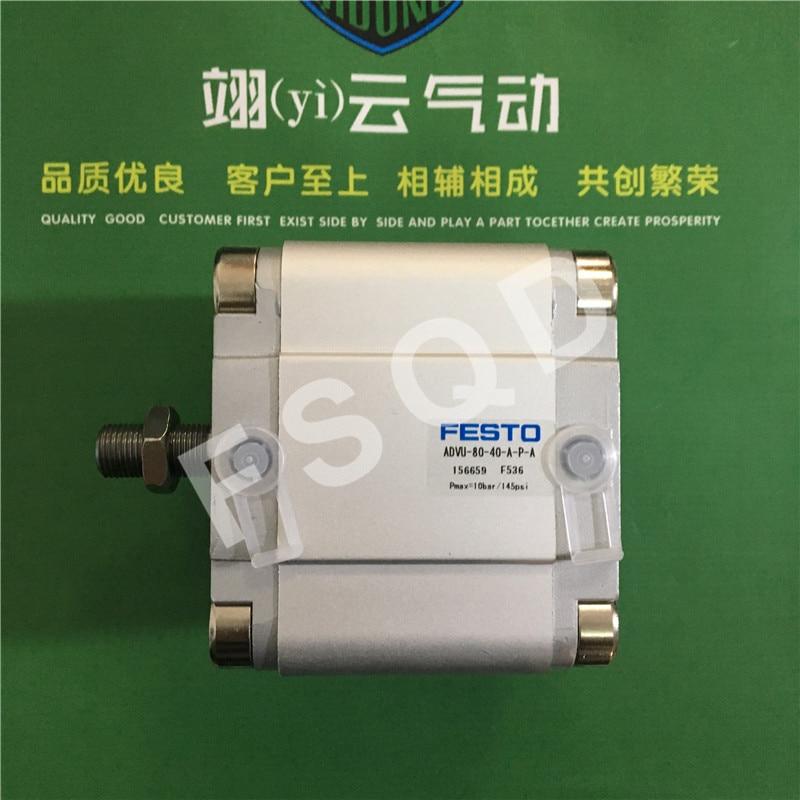 ADVU-80-35-A-P-A ADVU-80-40-A-P-A ADVU-80-45-A-P-A FESTO Compact cylinders pneumatic cylinder ADVU series