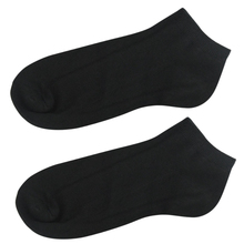 Fashion Pure Color NEW 12 Pairs Trainer Liner Ankle Socks Mens Cotton Rich