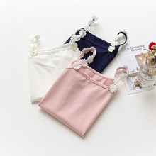 Kids Camisole Girls Vest Cotton Solid Sleeveless Shirt Children Tank Tops Candy Color Toddler Tees Summer Undershirts