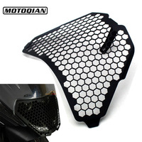 CNC Aluminum Headlight Guard Grille Protector Cover Protectors For KTM RC125 RC200 RC390 2016 2015 2014
