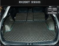 3D полный задний багажник кассетного коврик протектор ног pad Коврики для 16 17 Lexus RX RX200t 2016 2017 2018 (6 цветов)