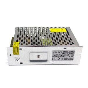 Импульсный переключатель источника питания DC30V 6.7A 200 Вт трансформатор напряжения 110 В 220 В AC DC 30 в SMPS для светодиодного освещения CNC радио шаговый двигатель