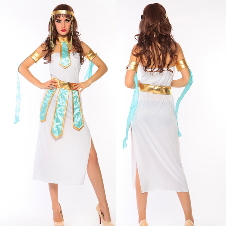 egyptian cleopatra costume sexy greek goddess costumes adult halloween costumes queen costume cosplay party dress game - Helen Of Troy Halloween Costume