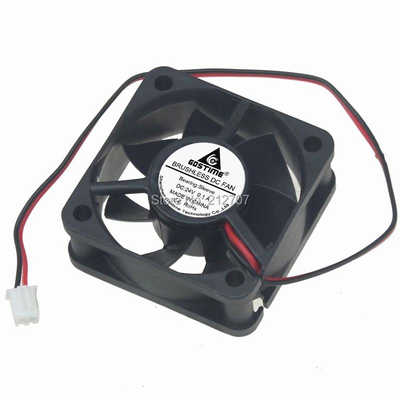 20Pcs Gdstime 5020 Blower Fan 12V 50mm 50x50x20mm DC Brushless Motor Cooling Cooler