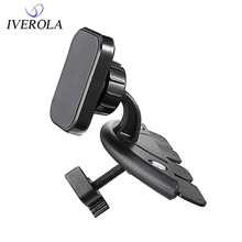 Car Phone Holder Universal CD Slot Magnetic Car Mount Holder