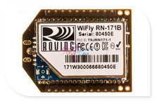 Best price DFRobot wireless Wifi Bee-RN-XV Module, 3.3V 802.11 b/g 464Kbps With Wire antenna compatible with Xbee interfaces for arduino