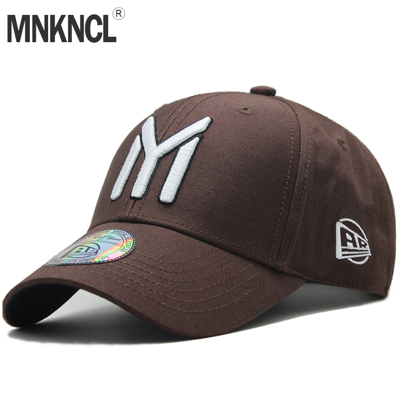 MNKNCL High Quality Brand Letter Embroidery Snapback   Cap   Cotton   Baseball     Cap   For Men Women Hip Hop Dad Hat Bone Garros