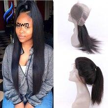Grade10A Brazilian Virgin Hair 360 Lace Frontal Closure 22.5*4 Strap Band Human Hair Frontal Closure With Baby Hair FreeShipping