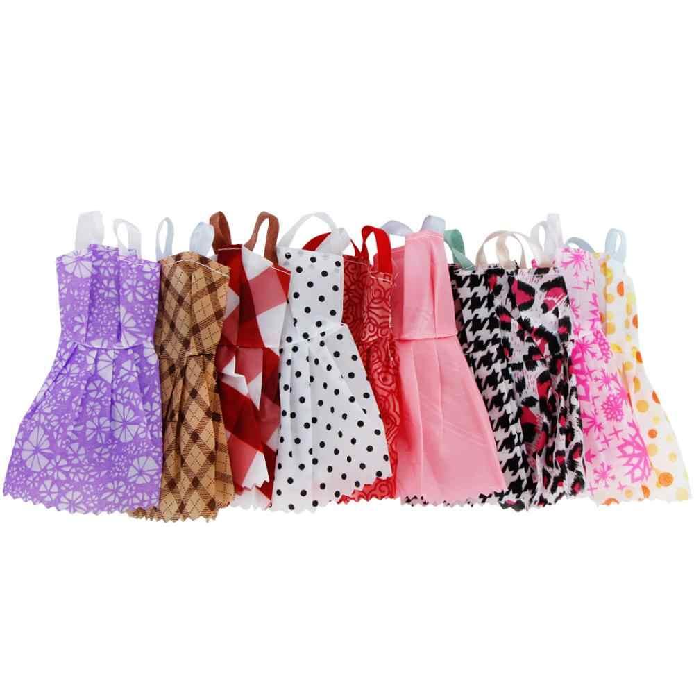 ... Random 30 Pcs Lot   10x Short Dresses Mini Skirt +10x Shoes + 6x ... 97b35d91b3cd