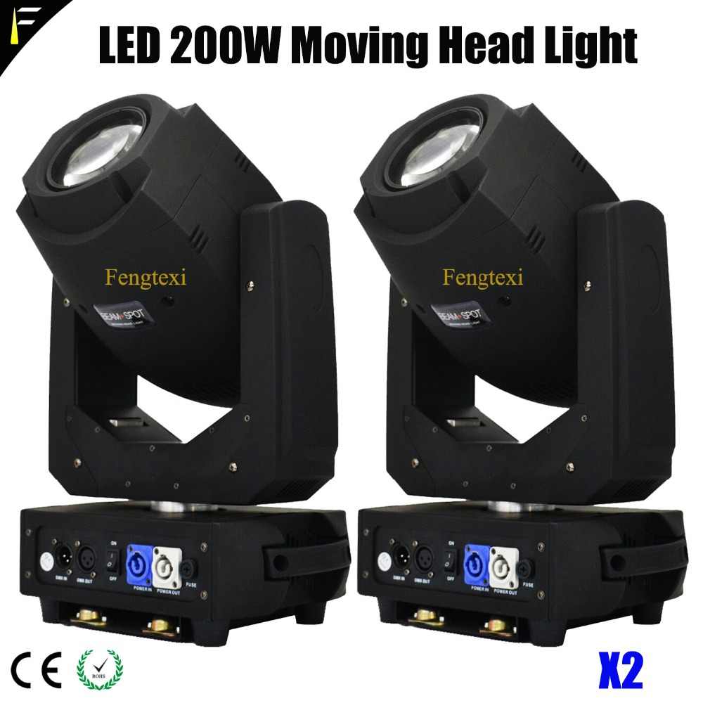 Hybrid LED 200w Stage Beam Spot Triple Prism Mover Light Equal 5R/7R Beam Effect for Big Musical Show x2/LOT factory price hot sales 2pcs lot 5r sniper stage light 5r lamp with zoom function scanner laser beam effect led stage lighting
