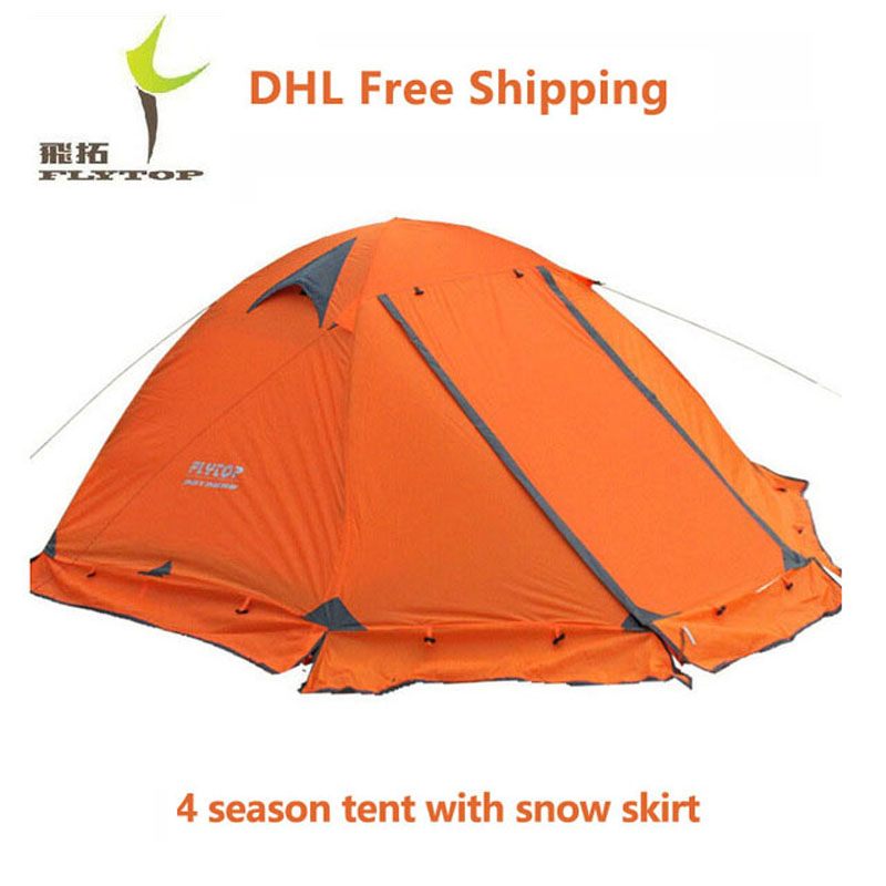 DHL Free Shipping Flytop 4 Season C&ing Tent Winter SnowStorm Resistant Double Layer Tents Ultralight Waterproof Tarp Shelter-in Tents from Sports ...  sc 1 st  AliExpress.com & DHL Free Shipping Flytop 4 Season Camping Tent Winter SnowStorm ...