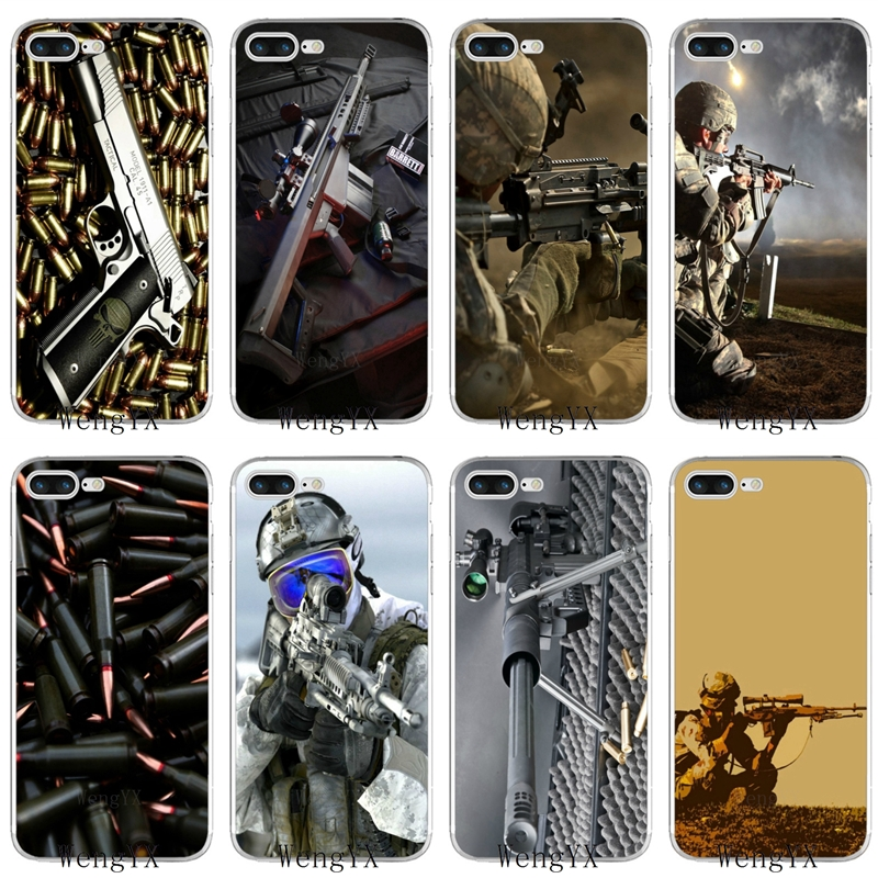 Lavaza Nice Weapons Rifle Guns Sniper Pistol Bullet Soft Case For Xiaomi Mi Max 3 A1 A2 Mi6 Mi 8 9se Lite Plus For Pocophone F1 Phone Bags & Cases Fitted Cases