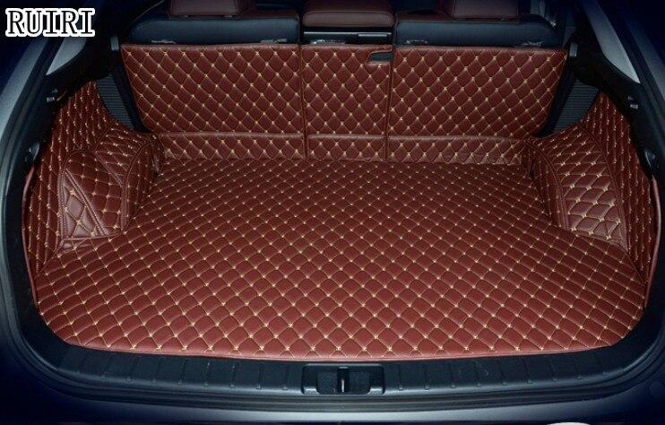 где купить Good quality! Special car trunk mats for Lexus RX 300 2018 waterproof boot carpets cargo liner mats for RX300 2018,Free shipping дешево