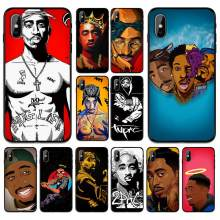 Animasi Rapper Crown Ilustrasi Lembut TPU Case Penutup untuk Apple Iphone 6 6S 7 7 Plus 5 5S se X XS Max Xr Silikon Kasus(China)