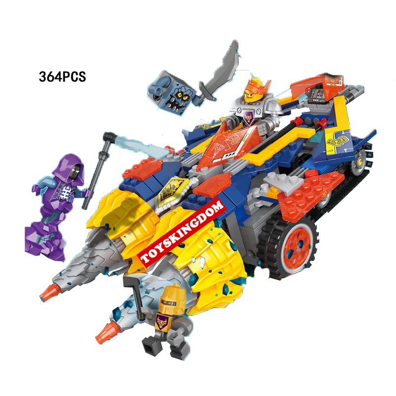 2018 Next Cavalier Nexus Knights Axl Rumble Maker Building Block Mini Ghost Devil Robot Figures Lepins Brick Lepins Toys for Boy 2018 next cavalier nexus knight the stone colossus of ultimate destruction building block joker jestro figures bricks 70356 toys