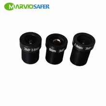 Marviosafer 3MP M12 Interface 2.8 / 3.6 / 6 mm Optional Fixed Lens for HD CCTV Camera, Great Quality
