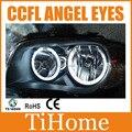 Free envio ccfl angel eyes kit para bmw e87 projetor não anéis de halo e87 ccfl angeleyes luzes
