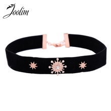 JOOLIM Jewelry On Trend Velvet Choker Necklace Fashion Star Suede Wholesale 2018