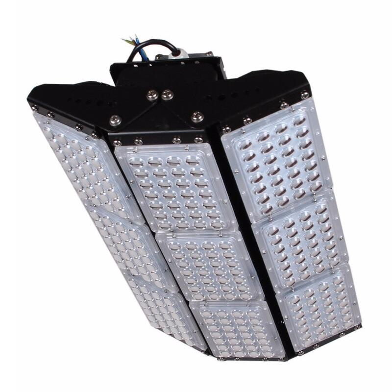 Industrial Lighting Led Lamp 500w tunnel light bridgelux 3030 chip meanwell driver led floodlights AC85-277V Free Shipping
