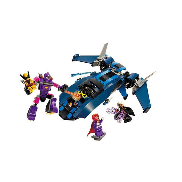 Heróis Da União Via Láctea guarda X-Men vs Corpo robot Building Blocks Conjuntos de modelos em escala Brinquedos Tijolo Bloco playmobil