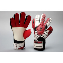 MAICCA Children Football goalkeeper glvoes with finger protector Professional antiskid latex kids Soccer goalie gloves