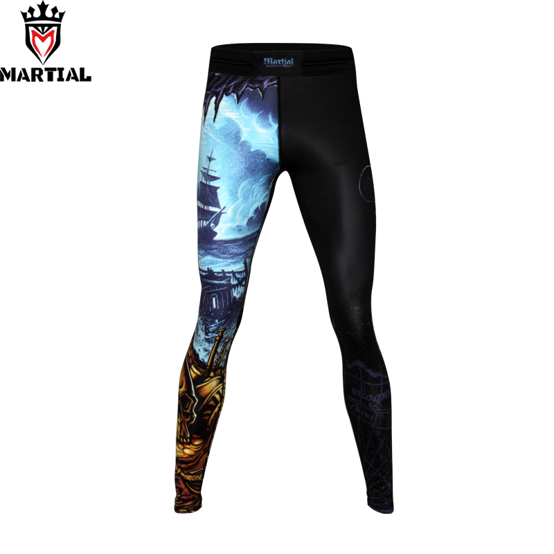 Martial: New Arrival Exploration || sublimation designs thai boxing pants black sports pants for men mma leggings bjj spats