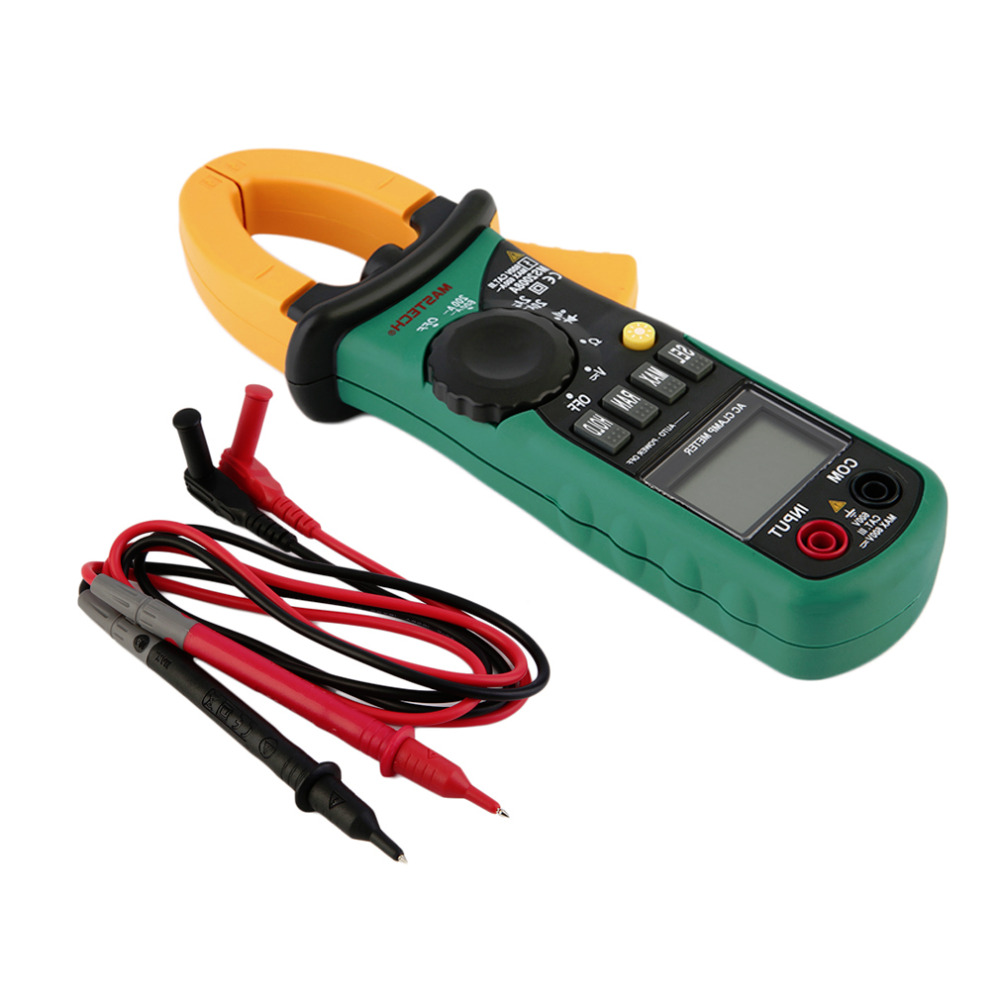 New Digital Clamp Meter Current AC/DC Voltage Tester for MASTECH MS2008ABrand New mastech m266 digital ac clamp meter ac dc voltage ac current tester