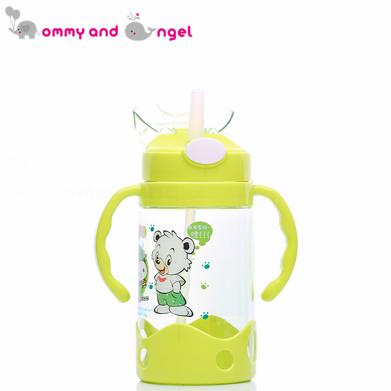 MOMMY AND ANGEL Calssic Boy&Girl Closer to Nature Fiesta Bottle Sippy Cup for Kid Straw  ...