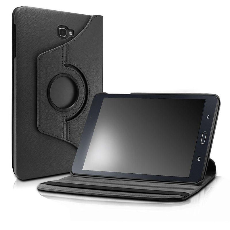 Pour Samsung Galaxy Tab UN 10.1 Cas 360 Stand Tournant De Couverture pour Samsung Galaxy Tab UN 10.1 pouces 2016 SM-T580 t585 T587 Tablet Cas