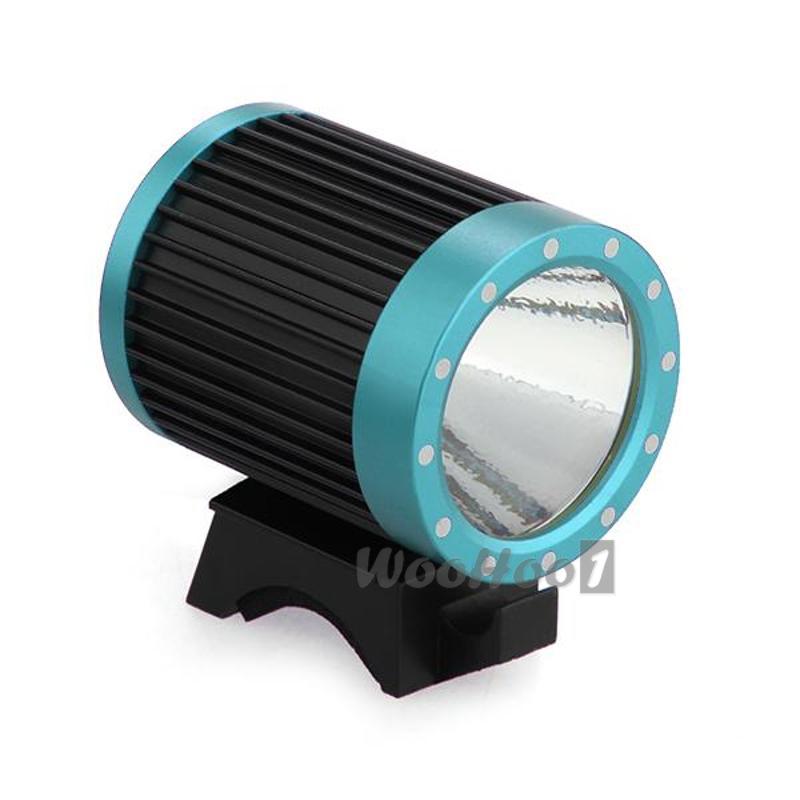 ФОТО 1600 Lumens XM-L T6 LED Bicycle Headlight Lamp Light+ Charger+18650 Blue