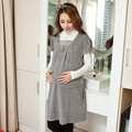 2017 Spring Short Sleeve Dresses for Pregnancy Cotton Maternity Dress Clothes for Pregnant Wowmen