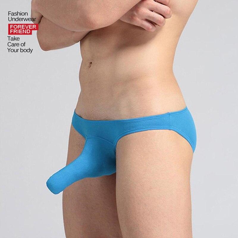 Men Briefs Underwear Men's Sexy Elephant Nose Big Pouch Briefs Underpants Mens Briefs Underwear Shorts Cueca Male Panties