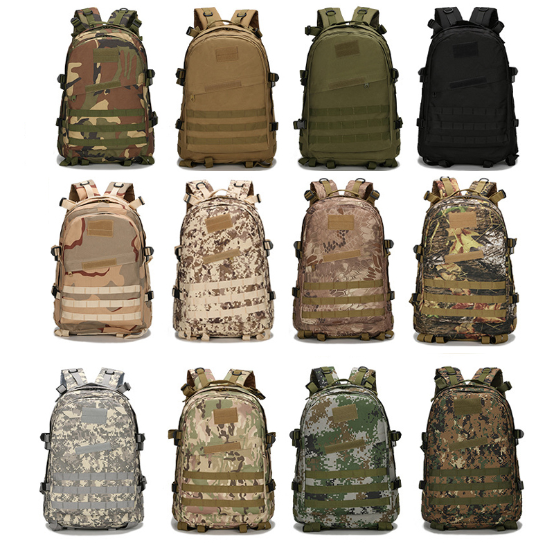 PLAYERUNKNOWN'S BATTLEGROUNDS Game Camouflage Backpack 14inch Computer Knapsack Cosplay Soldiers CS Pubg Magic Sticker DIY