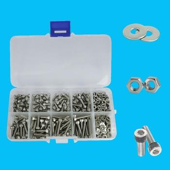 luchang 320pcs/set M2 M2 5 M3 304 Stainless Steel Hexagon Socket Head
