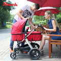 Cochecito europeo Pouch 2 en 1, coche de bebé plegable, ligero y con suspensión, coche de bebé en 20 colores, coche de marca para bebés de 0-36 meses