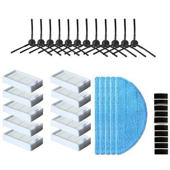 Side Brush Hepa Filter Mop Cloth Primary Dust Filter For Ilife V50 V55 Ilife V5 V5S V3 V3S V5Pro X5 V5S Pro Vacuum Cleaner Par цена 2017
