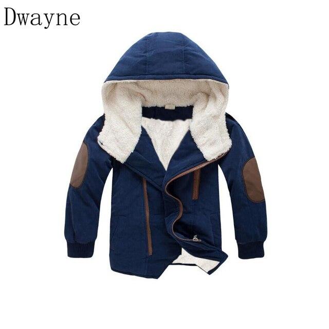 Best Price Kids Coat 2018 Autumn Winter Boys Jacket for Boys Children Clothing Hoodie Outerwear Coat baby Boy Clothes Winter Jacket Cotton