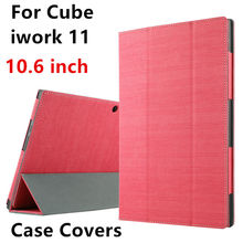Case For Cube iwork 11 Protective Smart cover Faux Leather Tablet PC For Cube iwork11 PU Protector Sleeve 10.6 inch Cases Covers