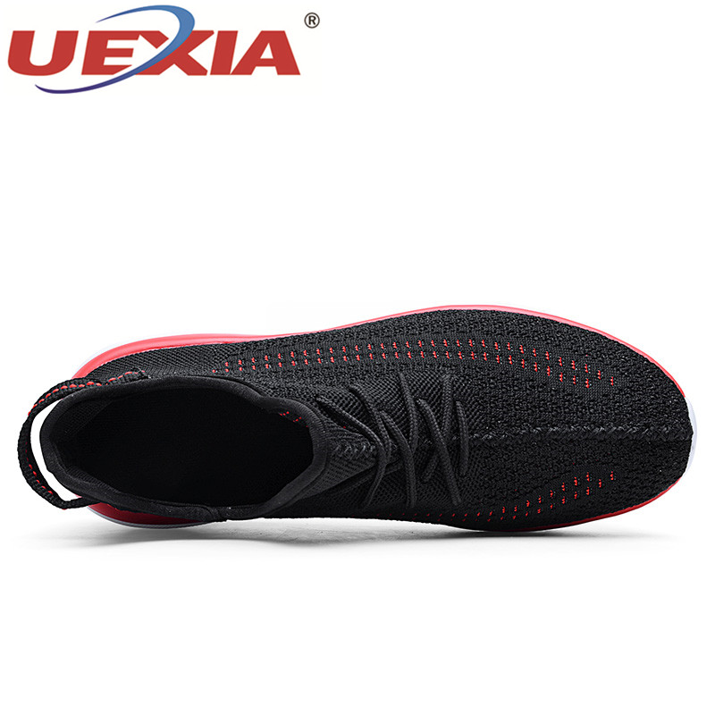 Formateurs Panier Plate Appartements Chaussures white Hommes Air Mesh Sneakers Respirant Chaus Uexia black Zapatillas yellow Masculino forme Des Casual Homme Femmes Red v8w0PXxq