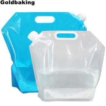 Goldbaking składany pojemnik na wodę BPA darmowe plastikowe transporter na wodę składana butelka na zewnątrz dla sportu Camping 5 10 L tanie i dobre opinie Butelki wody Bezpośredniego picia Z tworzywa sztucznego Zapas rzeczy Dorosłych Uchwyt Brak Ce ue Lfgb Ekologiczne Zaopatrzony