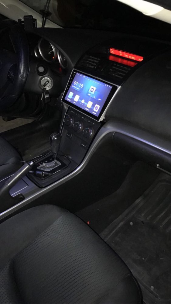 Cheap 1G Ram Android 6.01 Car Audio for Mazda6 Mazda 6 2010  Headunit Stereo Vedio GPS Navi Multimedia Radio PC Monitor 4G 1