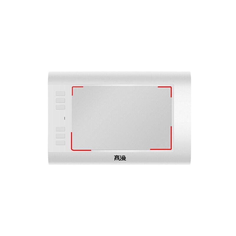Livraison gratuite nouvelle tablette de dessin graphique de tablette graphique de comprimés de stylo numérique de gapacket 860 T s'étendant à la carte de TF de 64 GB avec le stylo numérique - 3