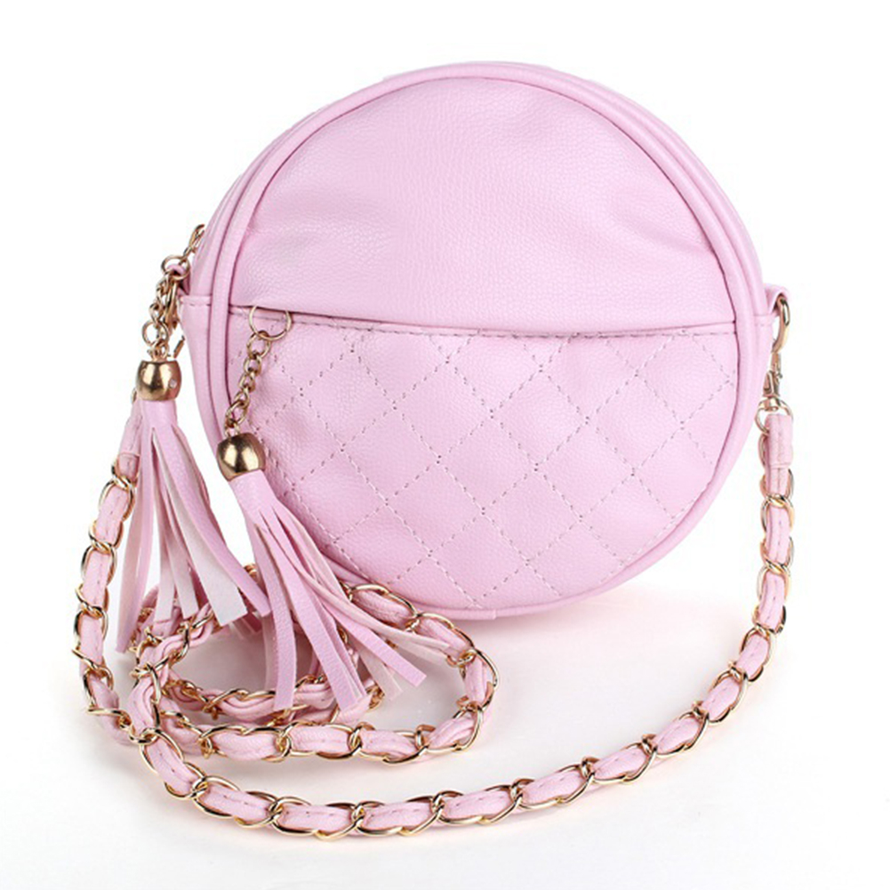 Mini Women Tassel Chain Small Bags Girls Messenger Bag Leather Crossbody Bags Handbags 8 Colors For Shopping Parties