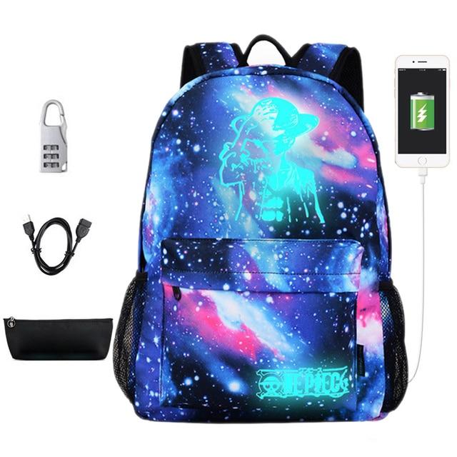 Новый световой школьные сумки для подростка мальчика звездное небо студент рюкзак Для мужчин плечо 15 дюймов с зарядка через usb рюкзаки