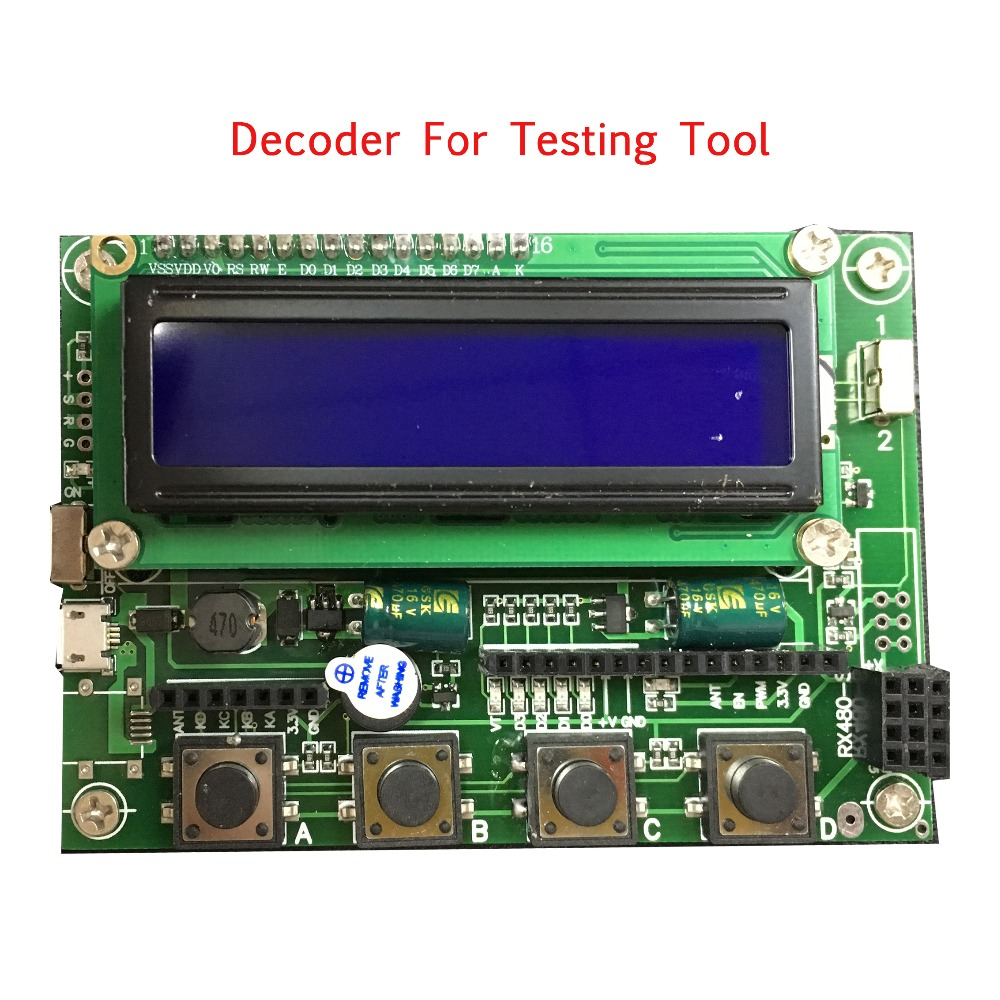 Newly design Multifunctional RF wireless decoder / transponder for Burn Tool by Smart remote control easy set  1527 2262 economic newly design 2 4mx1 2mx3cm cheap gymnastic mats