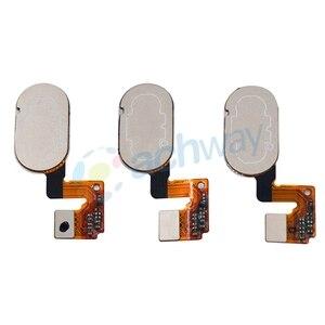 Image 3 - Meizu M3 Note L681H 홈 버튼 지문 센서 키 플렉스 케이블 리본 교체 부품 Meizu L681H 버튼 14 핀