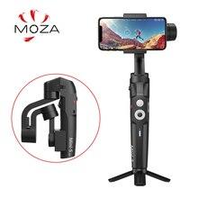 Original MOZA จับแกน 3 มือถือ Gimbal Stabilizer สำหรับสมาร์ทโฟนโทรศัพท์มือถือ iphone GoPro Sjcam EKEN Yi Action กล้อง