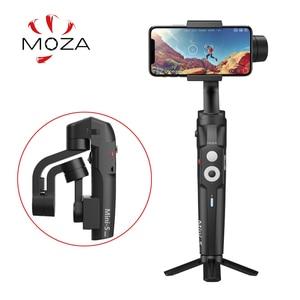 Image 1 - Original MOZA Capture 3 Axis Handheld Gimbal Stabilizer For Smartphone mobile phone iphone GoPro Sjcam EKEN Yi Action camera