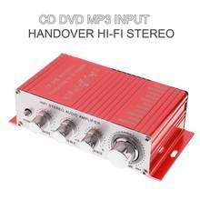 DC12V 5A 85dB Übergabe Hallo-fi Auto Stereo 2 Kanäle Stereo Verstärker Unterstützung CD / DVD / MP3 Eingang für Motorrad/Home
